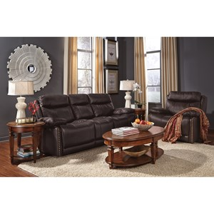 Flexsteel Latitudes-Russell Power Reclining Living Room Group