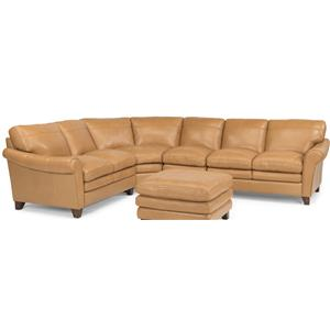 Flexsteel Latitudes-Sofia 4 Pc Sectional Sofa