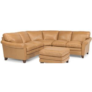 Flexsteel Latitudes-Sofia 3 Pc Sectional Sofa