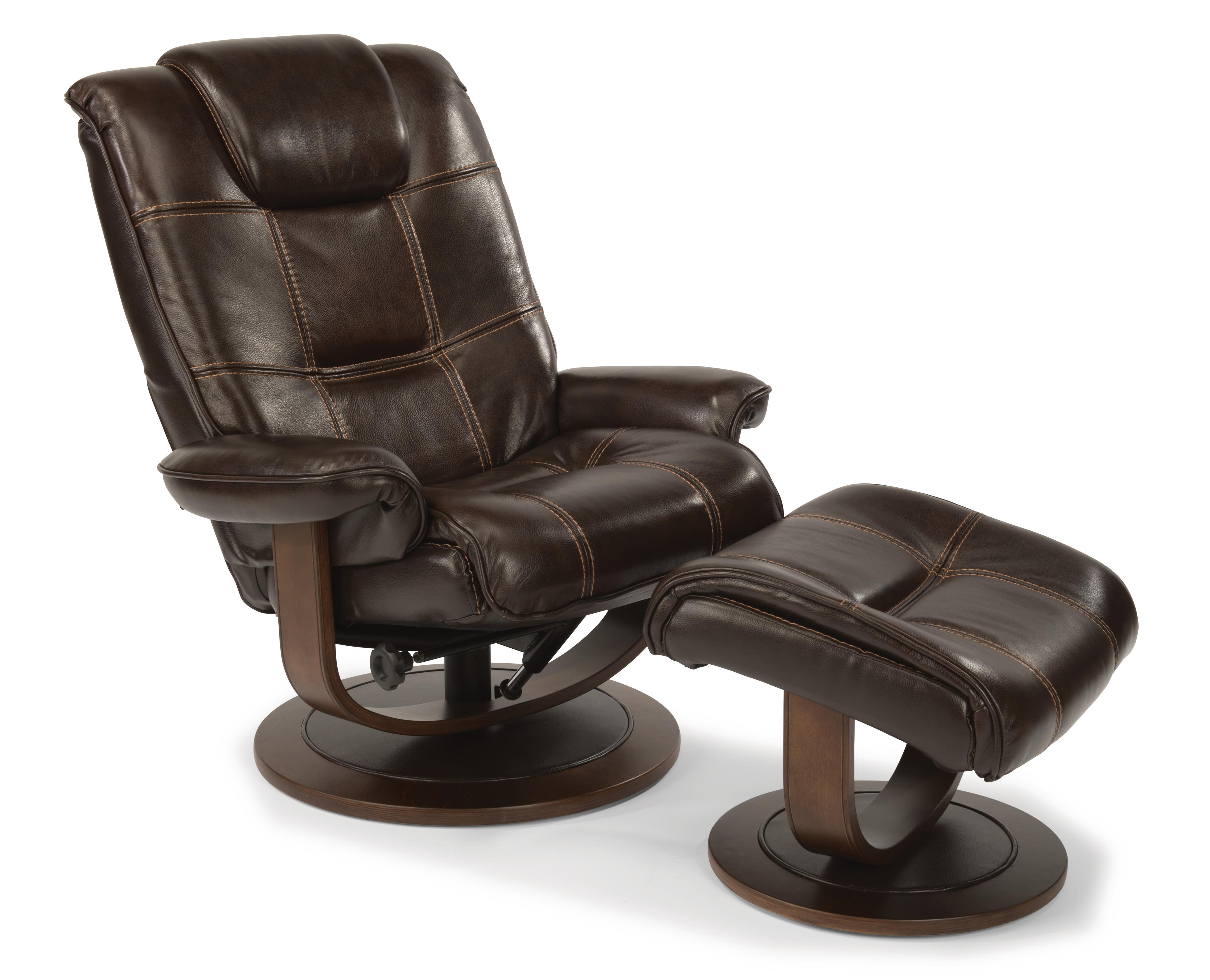 Spencer Reclining Chair and Ottoman Set