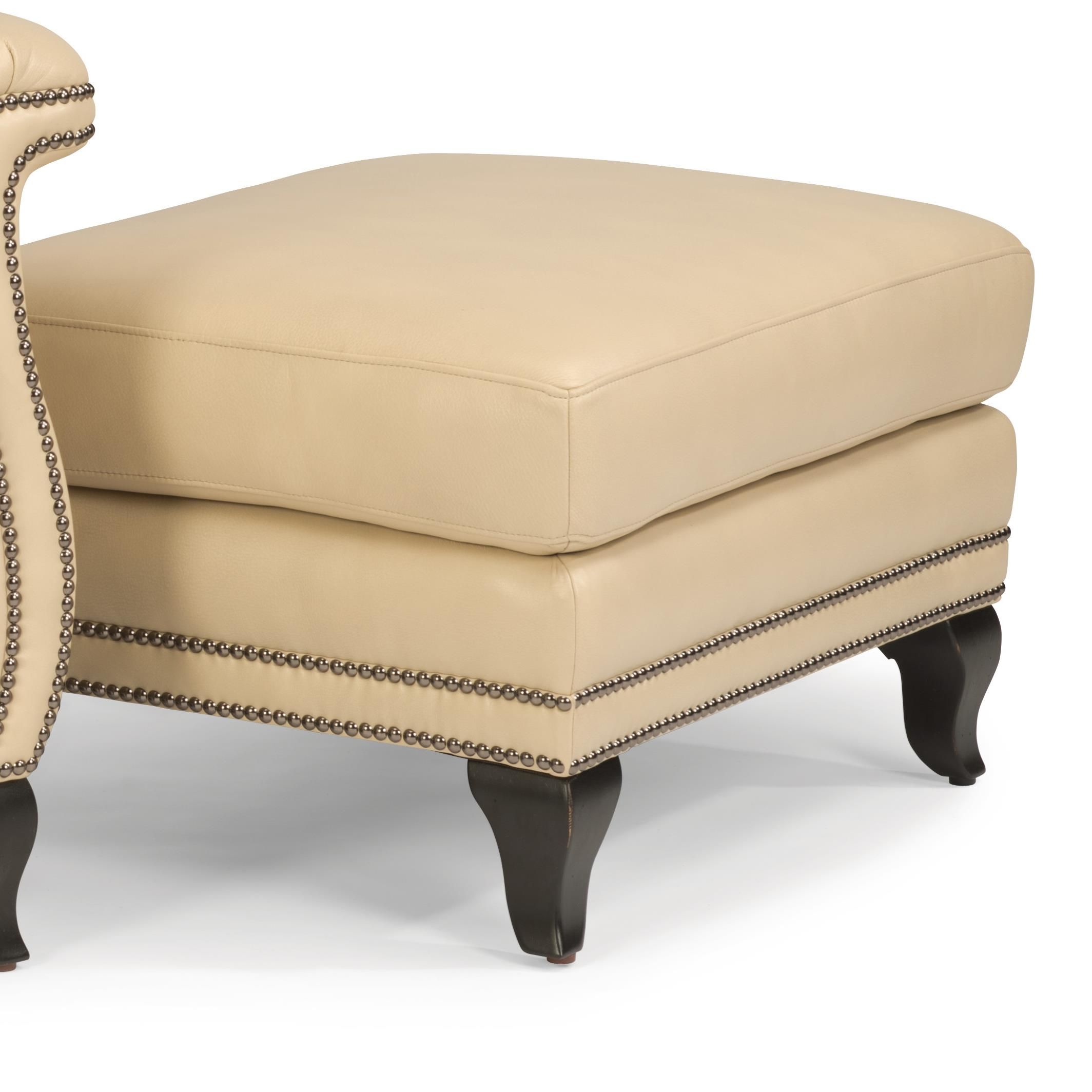 Flexsteel Latitudes-Sting Ray Ottoman - Item Number: 1256-08-LSP-86