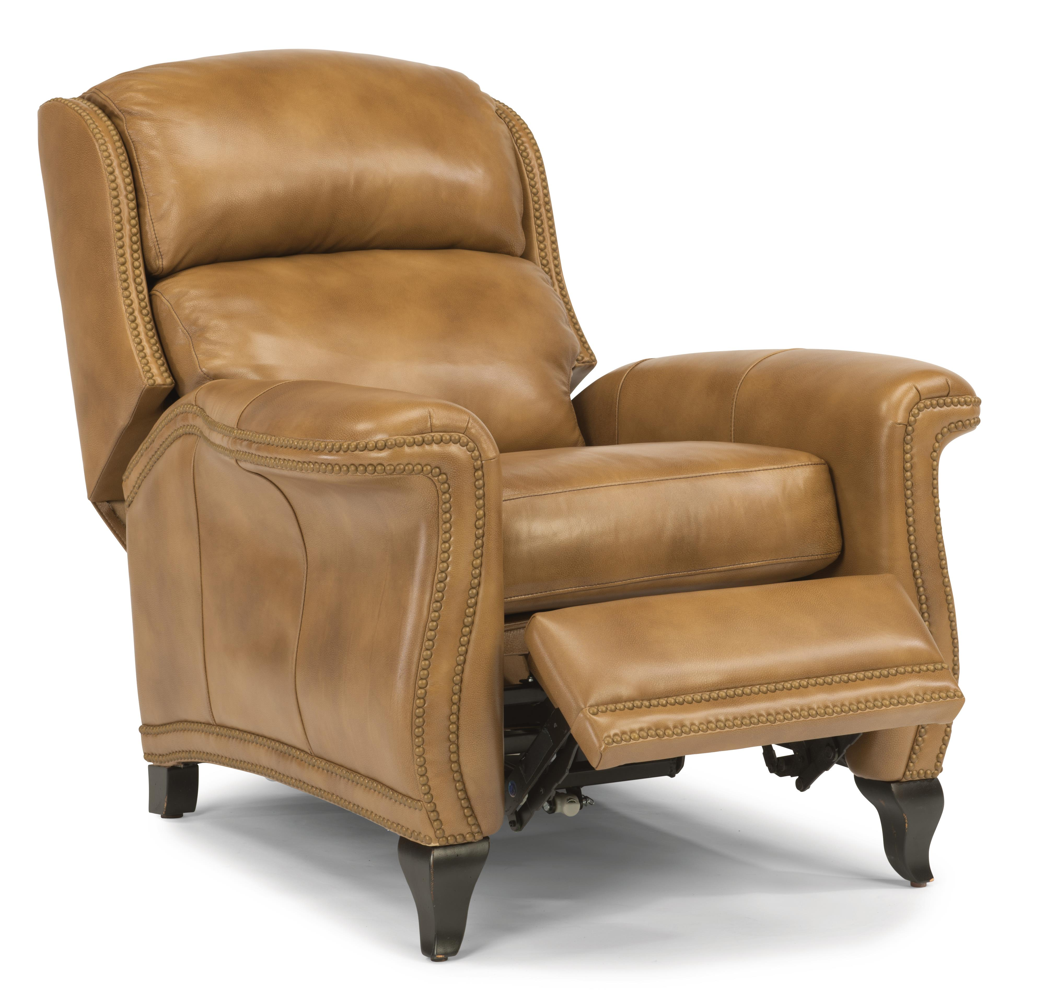 Flexsteel Latitudes-Sting Ray High Leg Recliner - Item Number: 1256-50P-LSP-82
