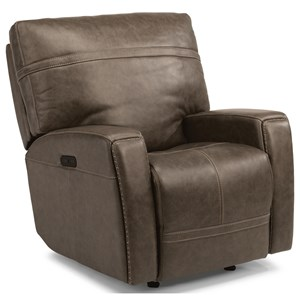 Flexsteel Latitudes - Talbert Power Gliding Recliner with Power Headrest