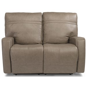 Flexsteel Latitudes - Talbert Power Reclining Love Seat