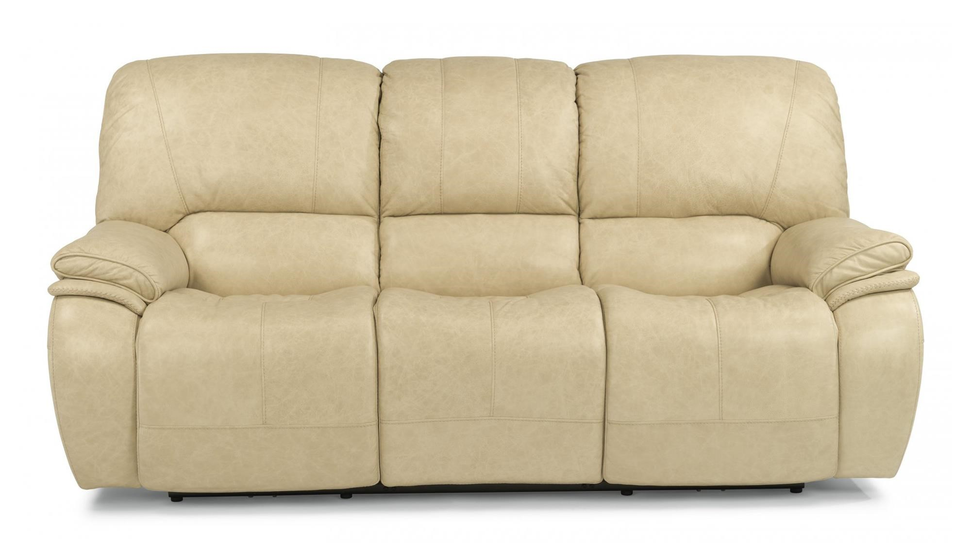 Flexsteel Tobias Power Reclining Sofa with Power Headrest and USB