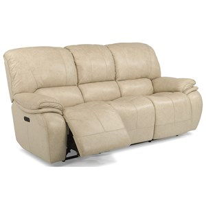 Flexsteel Latitudes-Tobin Power Reclining Sofa with Power Headrest