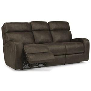 Flexsteel Latitudes-Tomkins Reclining Sofa