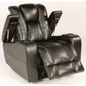 Flexsteel Latitudes-Trinidad Power Recliner with Lighting Cupholders and Adjustable Headrest
