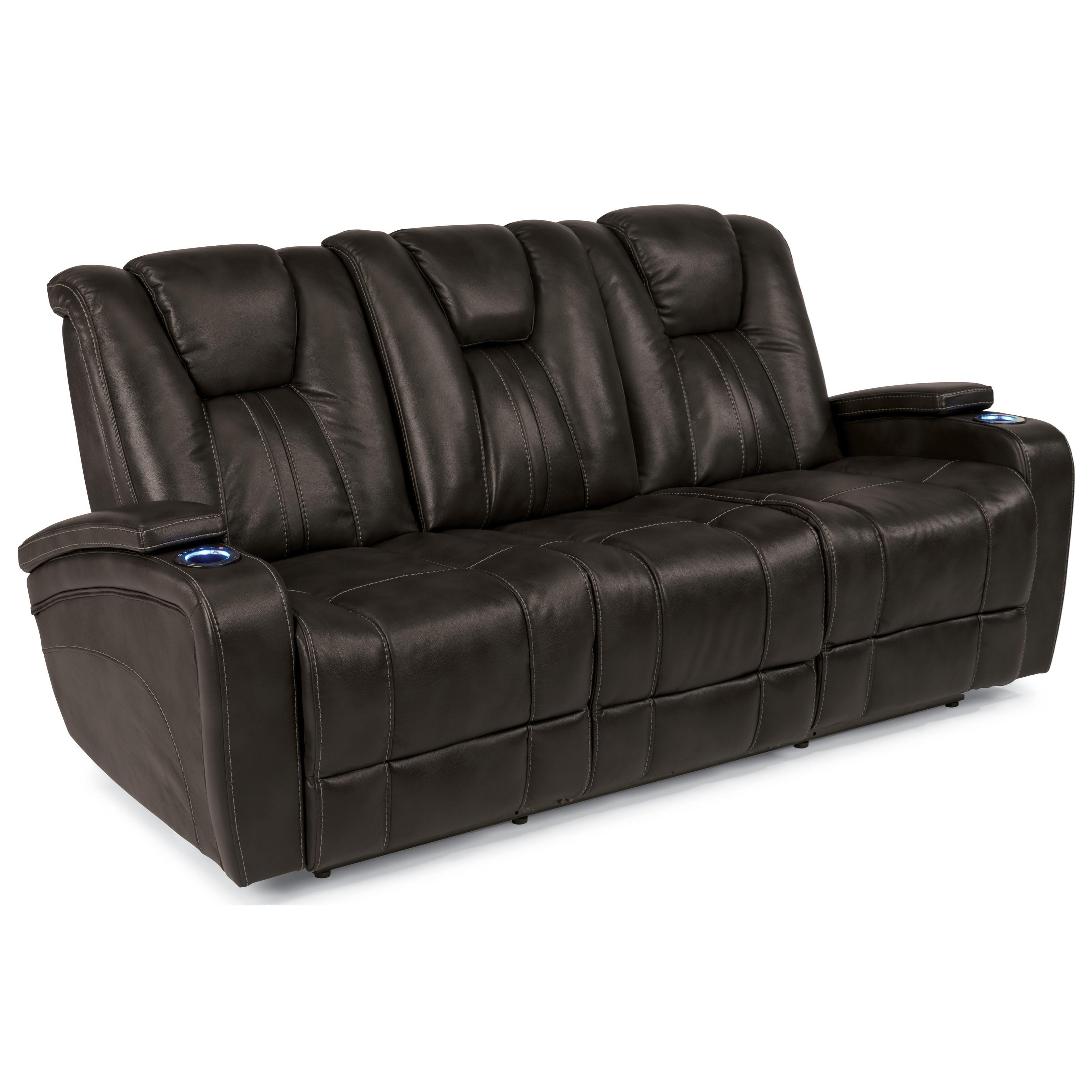 Flexsteel Latitudes-Trinidad Power Reclining Sofa - Item Number: 1642-62P 02