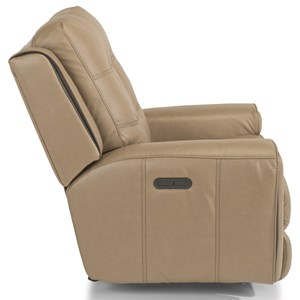 Flexsteel Latitudes Wicklow Power Gliding Recliner With Power Headrest