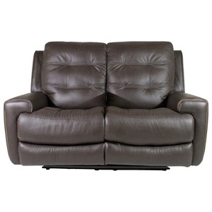 Flexsteel Latitudes-Wicklow Power Reclining Loveseat with Power Headrest