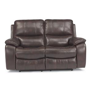 Flexsteel Latitudes - Woodstock Double Reclining Love Seat