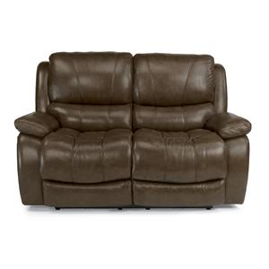 Flexsteel Latitudes-Zandra Lay Flat Power Reclining Loveseat