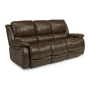 Flexsteel Latitudes-Zandra Lay Flat Power Reclining Sofa