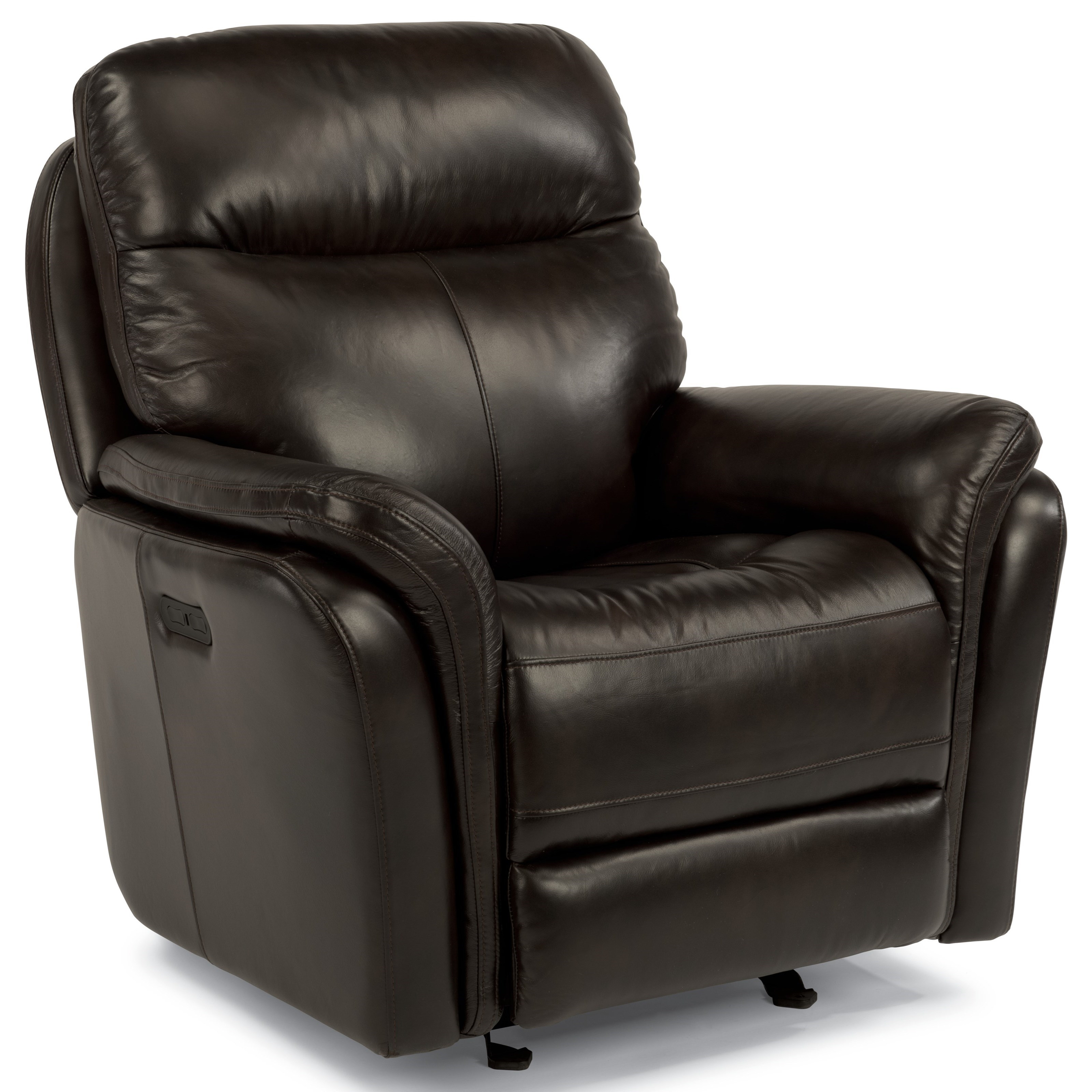 Flexsteel Latitudes Zoey 1653 54p Power Gliding Recliner With Usb Ports Furniture And