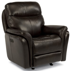 Flexsteel Latitudes-Zoey Power Gliding Recliner with Power Headrest