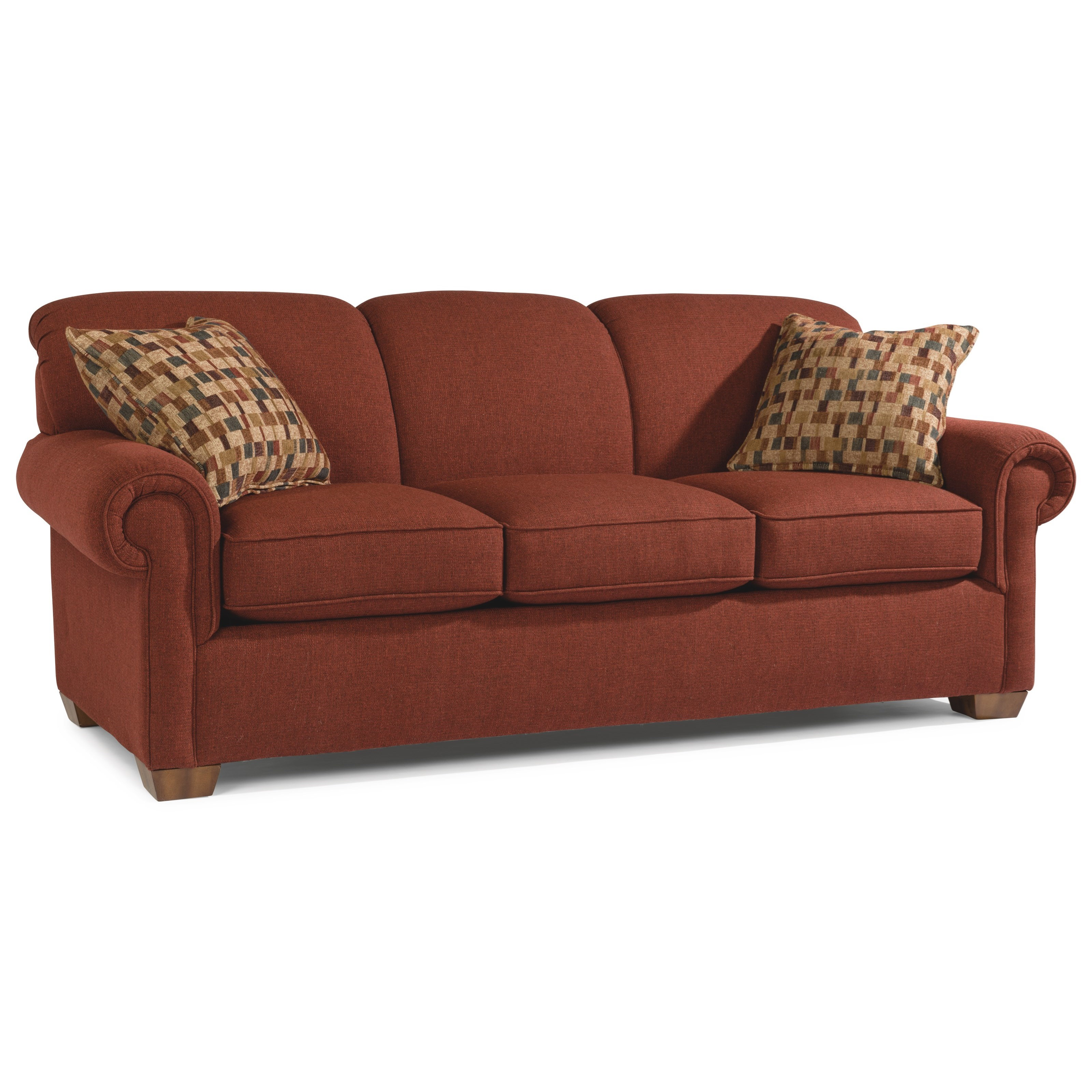 Main Street Sofa by Flexsteel at Furniture Superstore - Rochester, MN