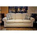 Flexsteel Main Street Queen Sofa Sleeper - Item Number: 5988-44
