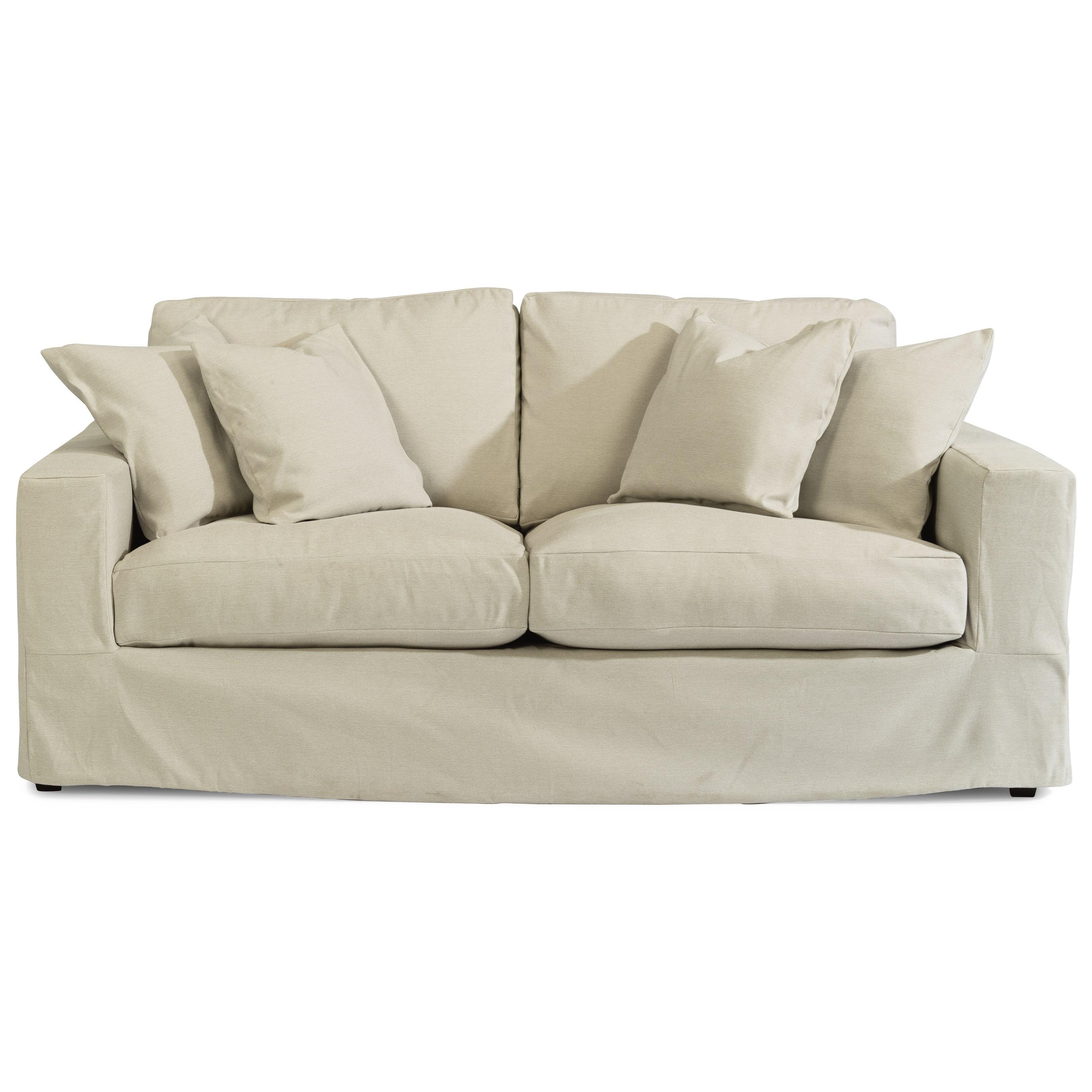 Slipcovered 2-Cushion Sofa