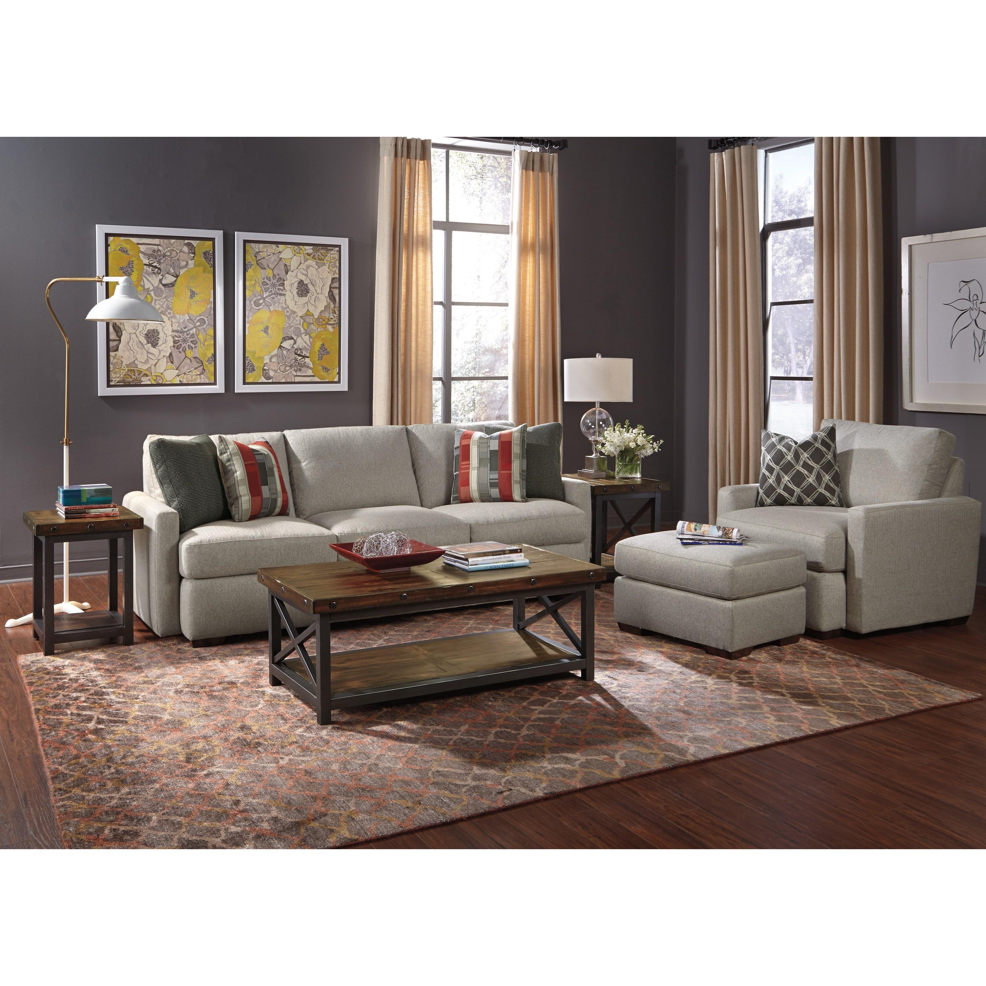 Flexsteel Michelle Living Room Group - Item Number: 7906 Living Room Group 1