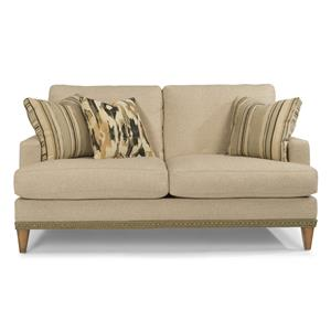 Flexsteel Ocean Loveseat w/ Nails