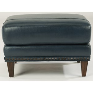 Flexsteel Ocean Ottoman w/ Nails