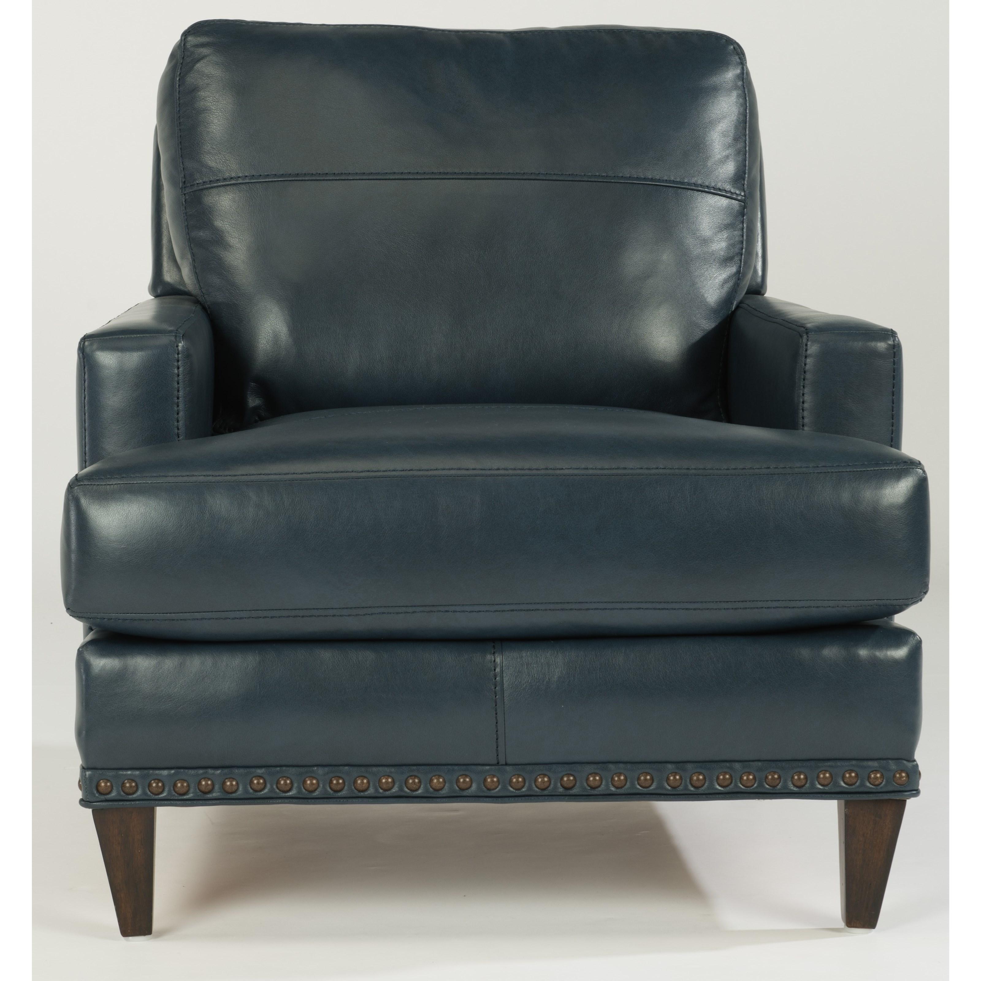 Flexsteel Ocean Chair w/ Nails - Item Number: B3367-10-173-40