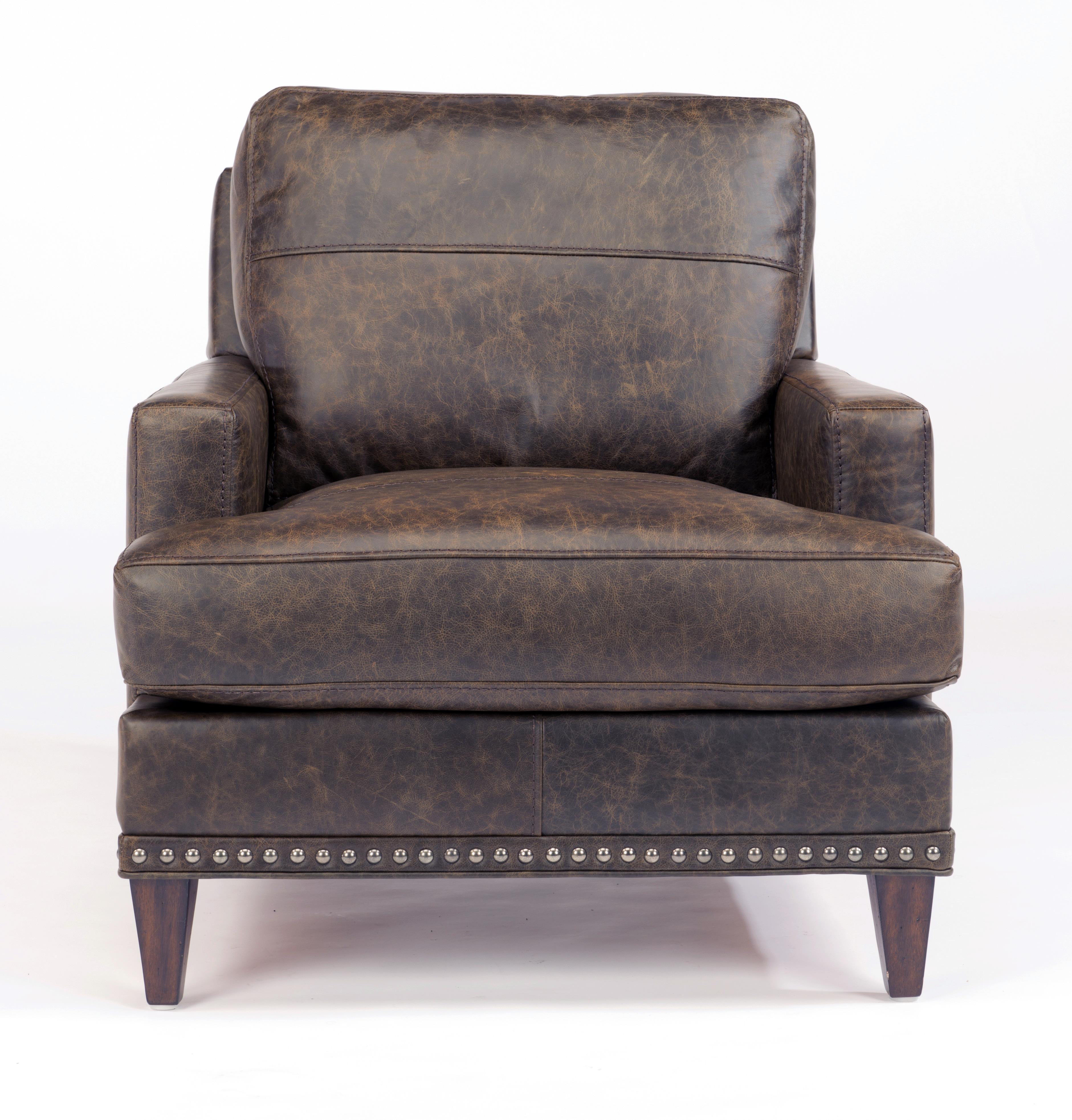 Flexsteel Ocean Chair w/ Nails - Item Number: B3367-10-175-70