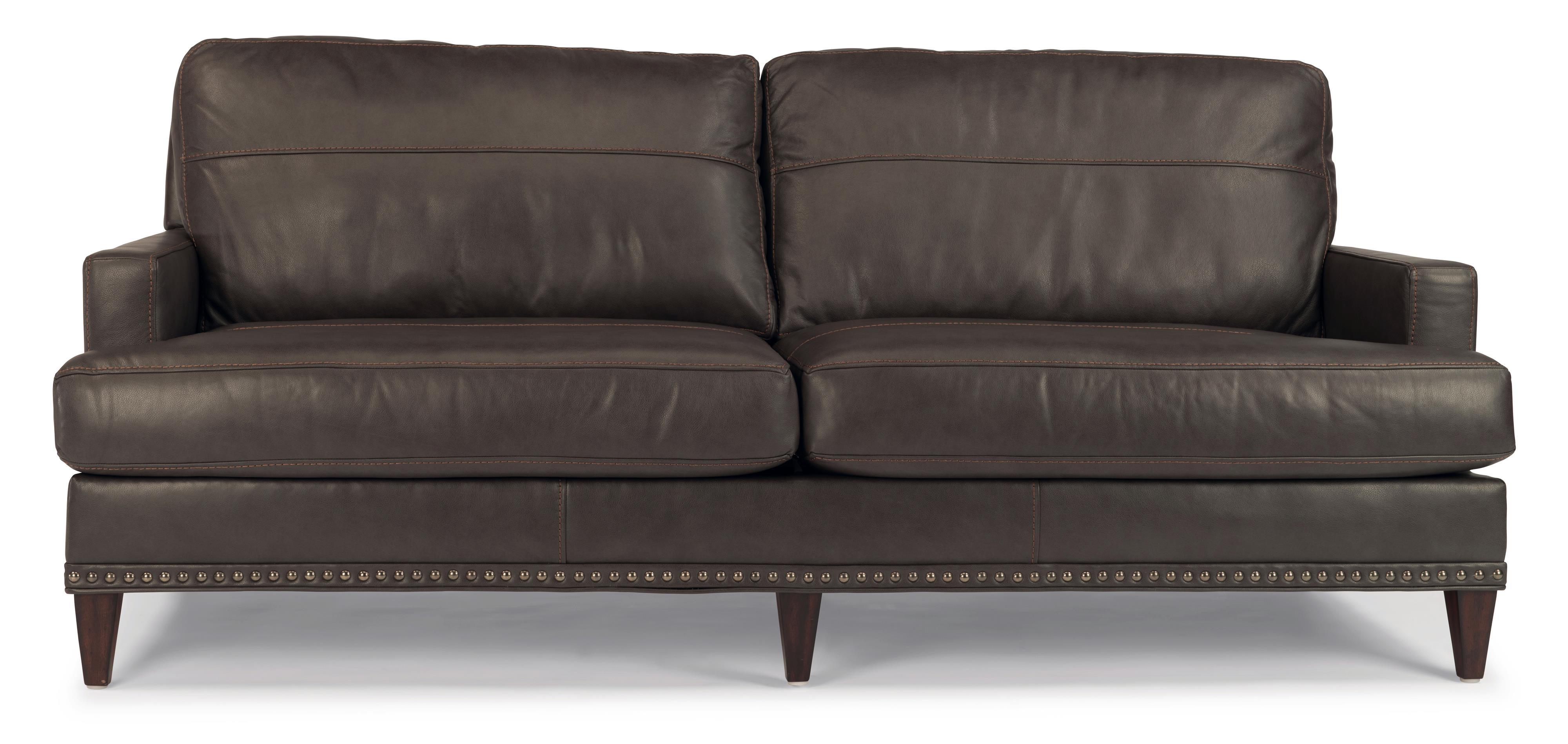 Flexsteel Ocean Sofa w/ Nails - Item Number: B3367-31-174-02