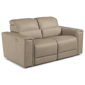 Power Reclining Loveseat with Power HRs