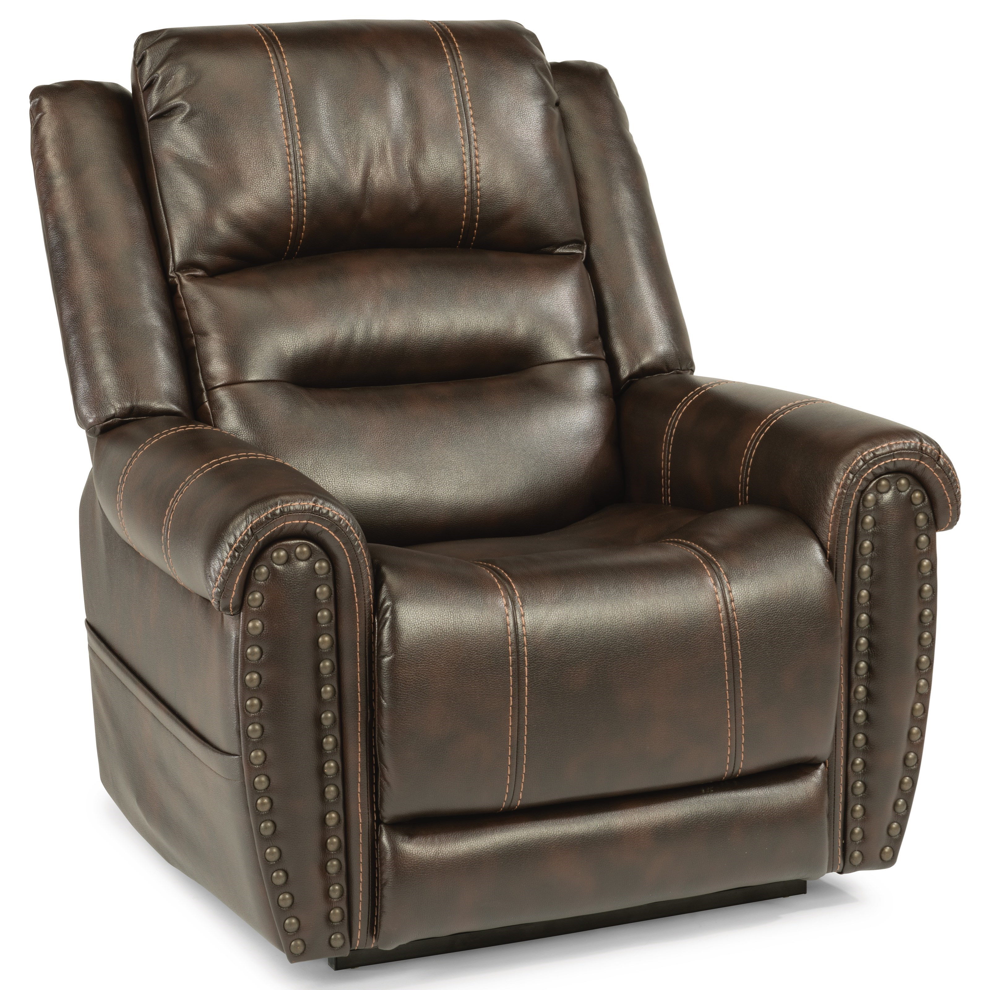 Latitudes - Oscar Power Lift Recliner by Flexsteel at Ruby Gordon Home