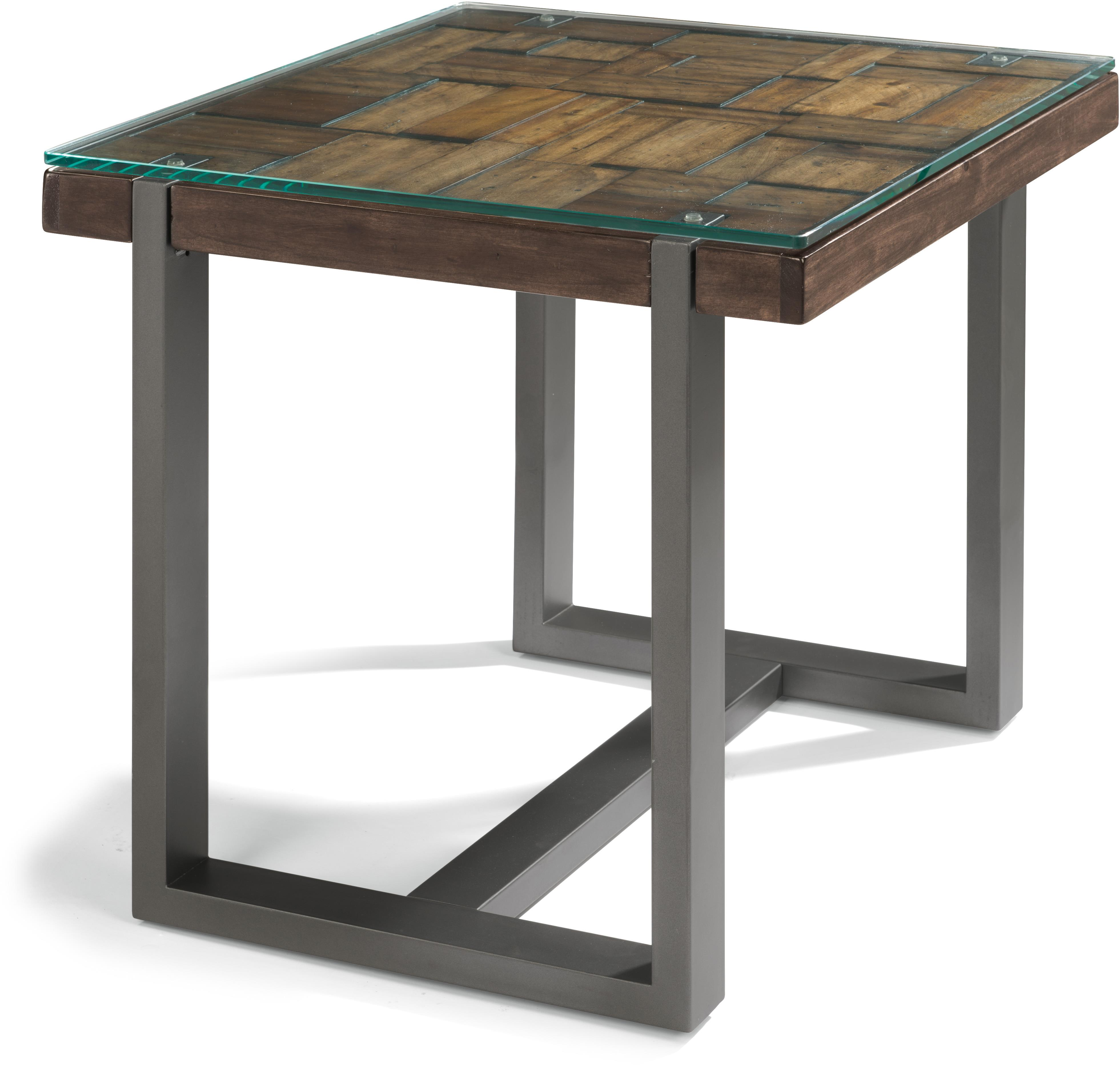 Flexsteel Patchwork End Table  - Item Number: W1415-01