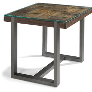 Flexsteel Patchwork End Table