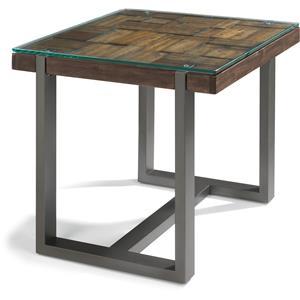 Flexsteel Patchwork End Table
