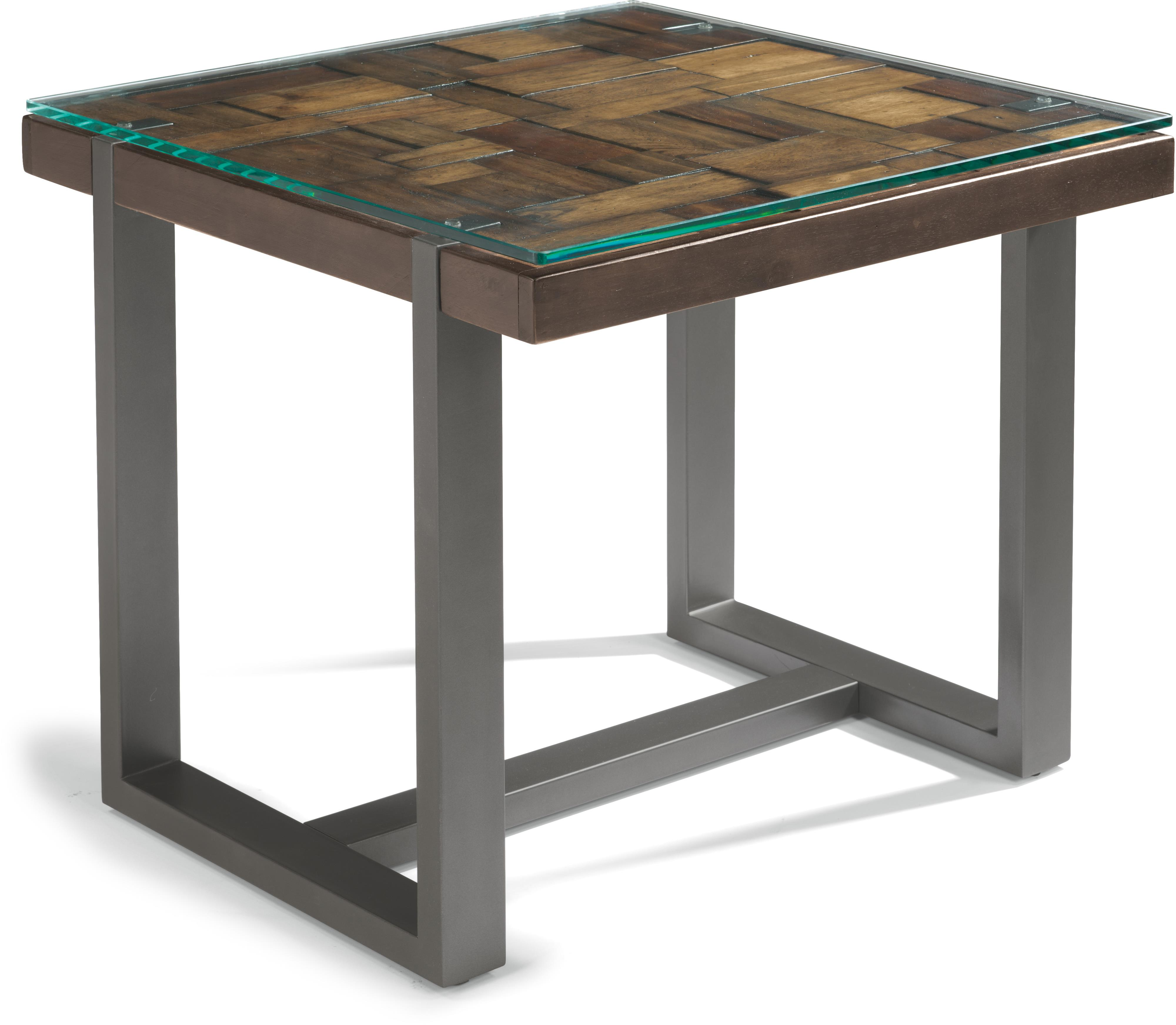 Flexsteel Patchwork Lamp Table  - Item Number: W1415-02