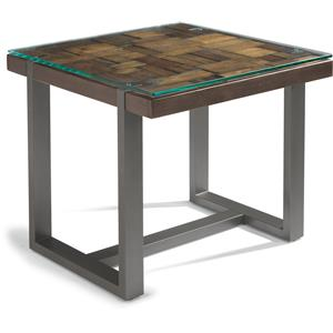 Flexsteel Patchwork Lamp Table
