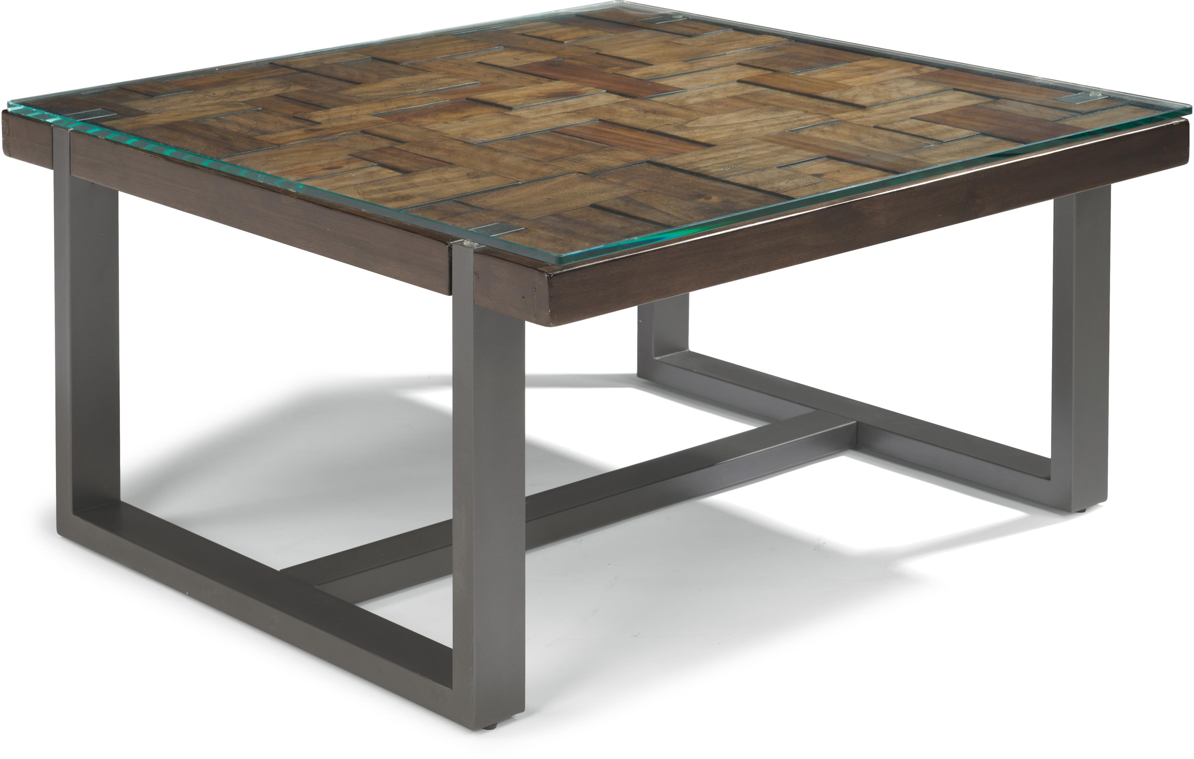 Flexsteel Patchwork Square Cocktail Table - Item Number: W1415-032