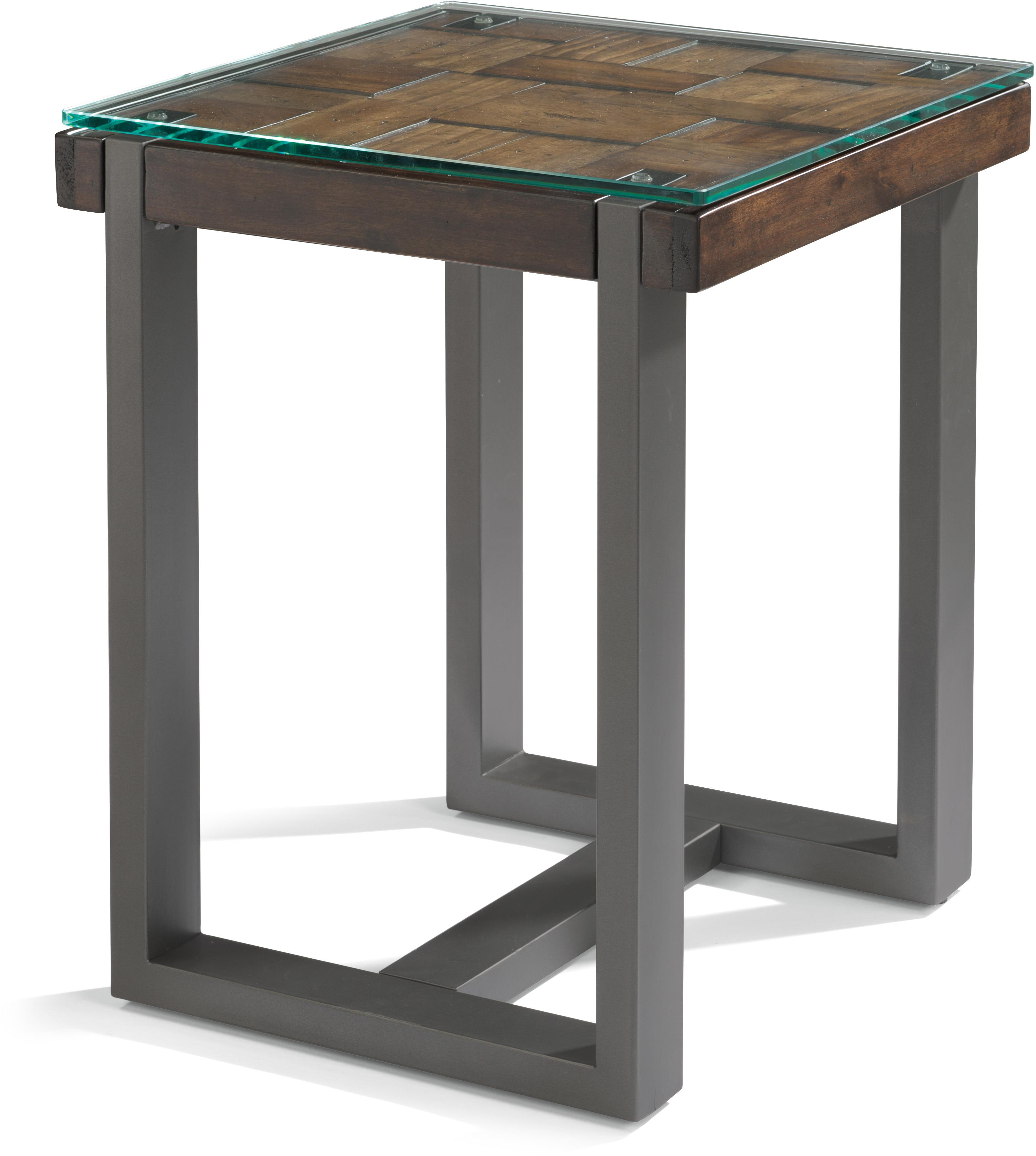 Flexsteel Patchwork Chair Side Table  - Item Number: W1415-07