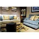 Flexsteel Patterson  Stationary Living Room Group - Item Number: 7321 Living Room Group 1