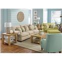 Flexsteel Avery Stationary Living Room Group - Item Number: 7321 Living Room Group