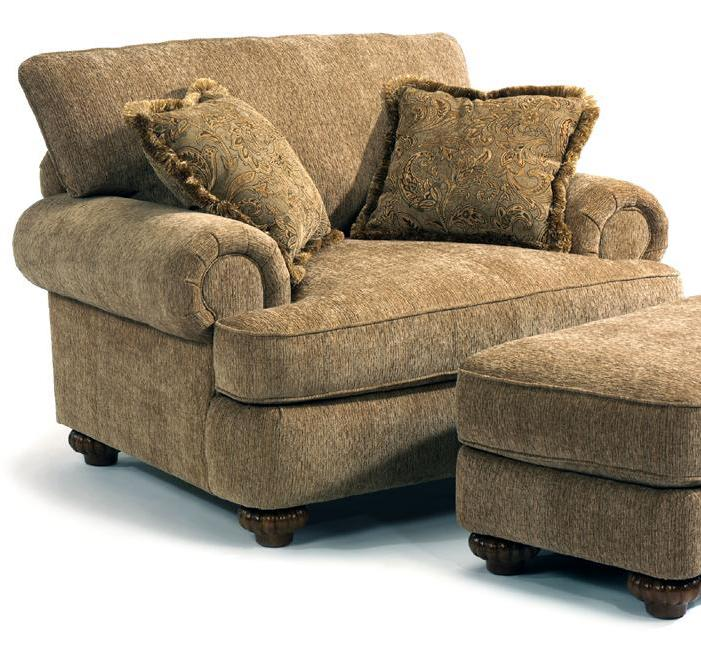 Flexsteel Patterson 7321 10 Upholstered Chair With Rolled Arms John V Schultz Furniture