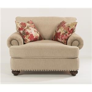 Flexsteel Patterson  Chair w/ nails