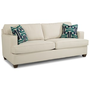 Flexsteel Pierce Two Cushion Sofa