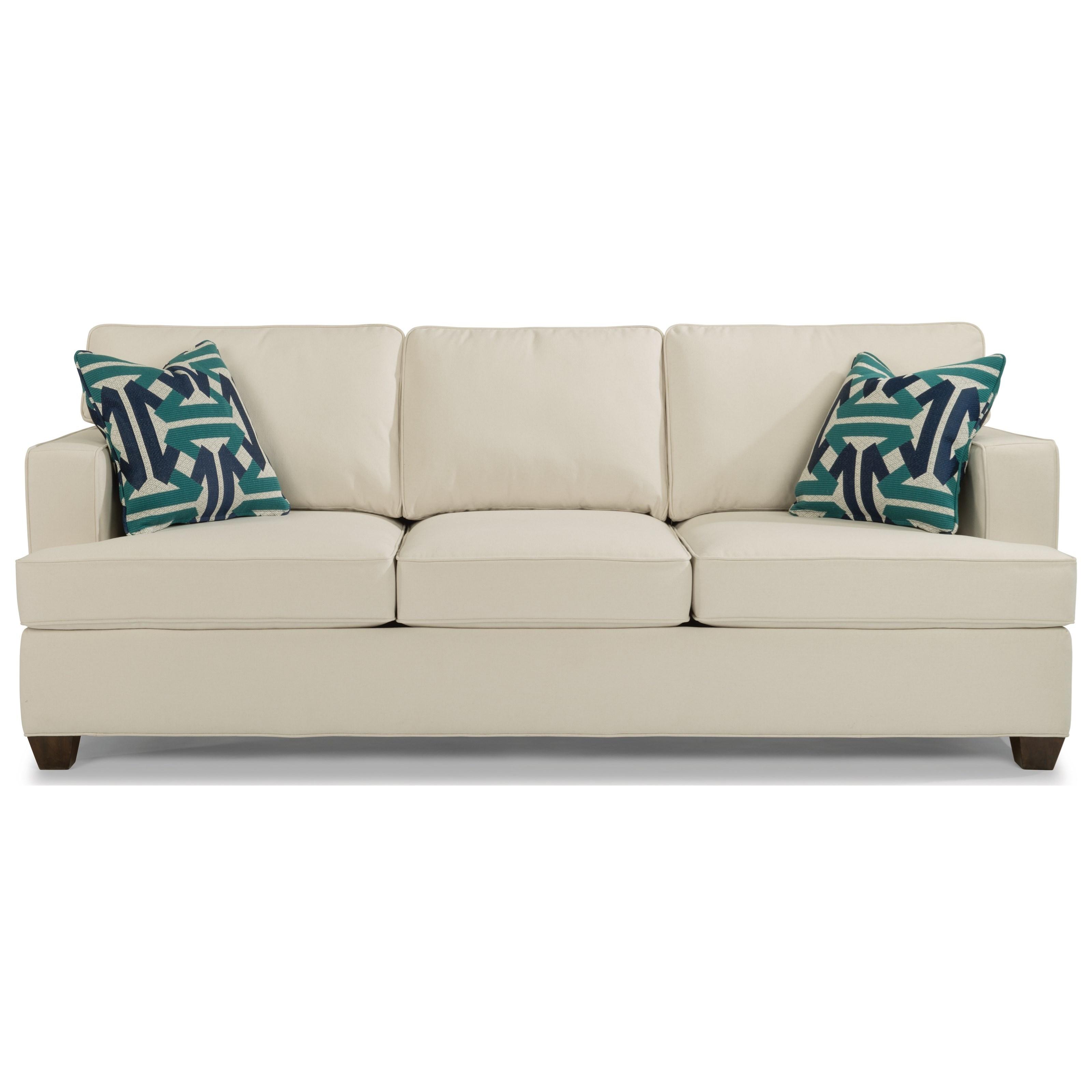 Flexsteel Furniture Telephone Number: Flexsteel Pierce Contemporary Sofa With Track Arms