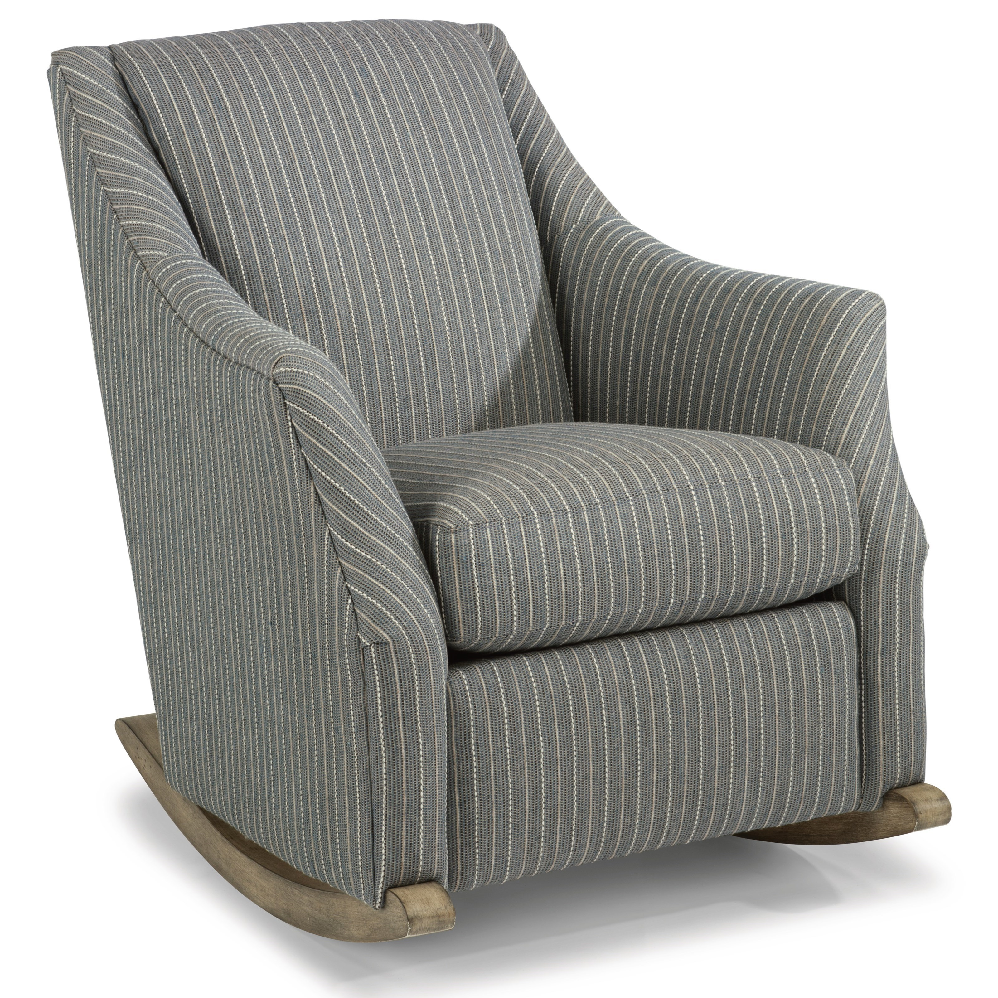Flexsteel Plymouth Transitional Rocker Chair With Plush