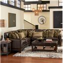 Flexsteel Latitudes - Port Royal 3 Pc Sectional Sofa - Item Number: 1373-27+231+28
