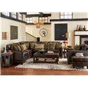 Flexsteel Latitudes - Port Royal Three Piece Sectional Sofa