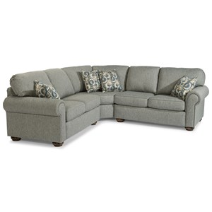Flexsteel Preston Sectional Sofa