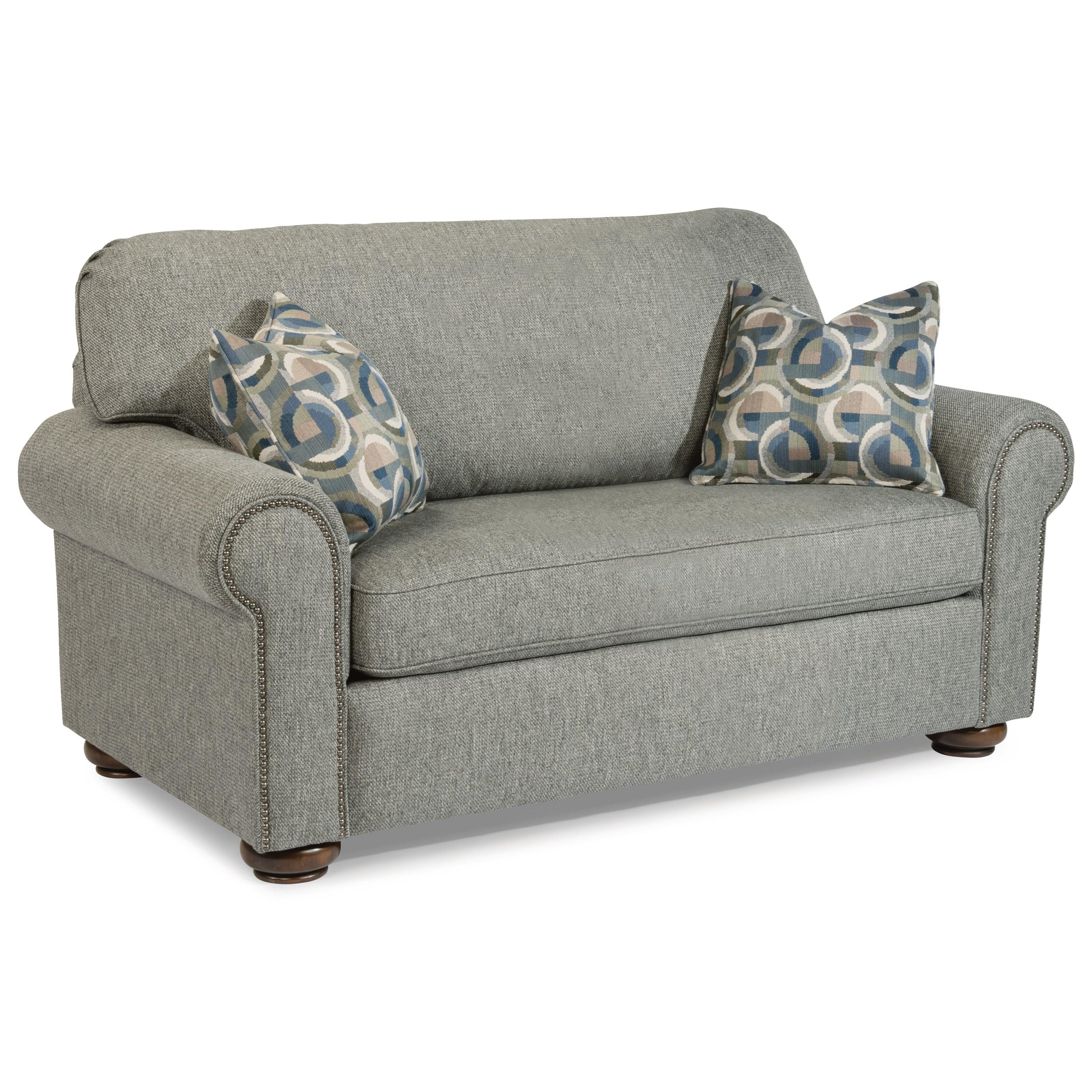 Brilliant Preston Traditional Twin Sleeper Sofa With Nailhead Trim By Flexsteel At Crowley Furniture Mattress Download Free Architecture Designs Ferenbritishbridgeorg