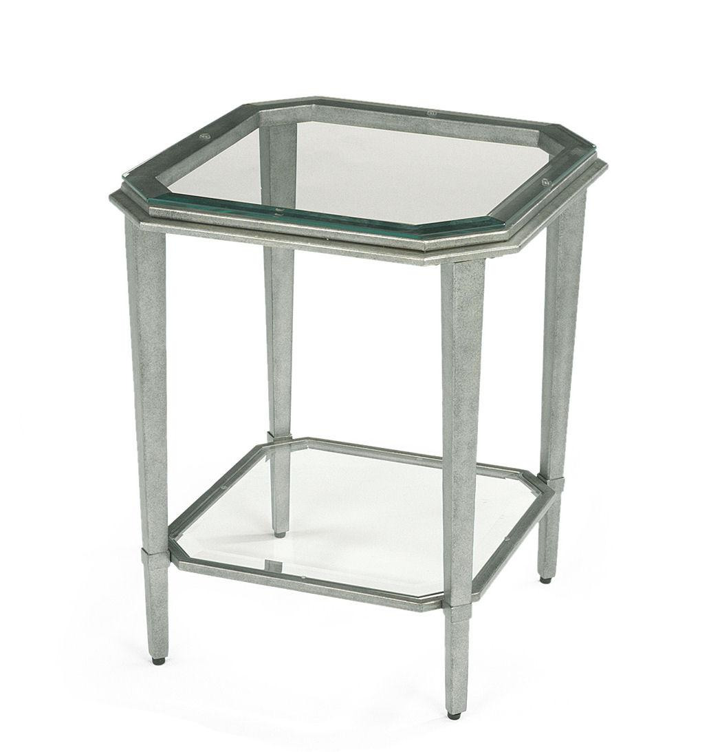 flexsteel prism contemporary glass chairside table jonti craft 6418jc berries 174 prism square activity table